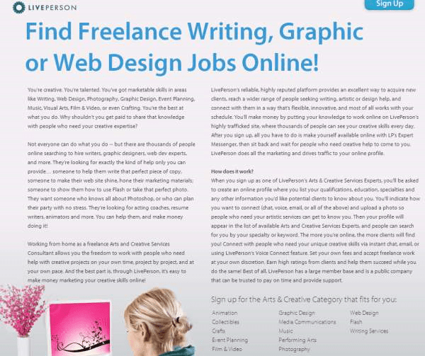Freelance Creative Services Work Online - Arts and Creative Services Careers @ L_2013-09-17_13-05-02