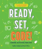 Cover of Ready, Set, Code! featuring the title on a green background