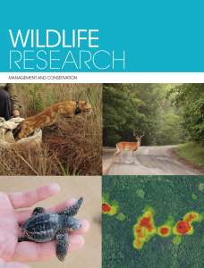 Cover of Wildlife Research journal