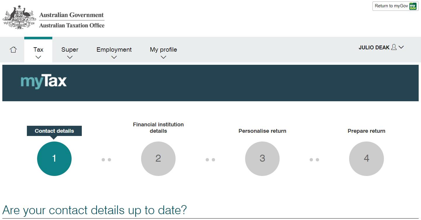 ATO 確定申告 – Puliyo ブログ