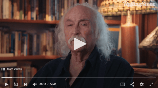 David Crosby Answers Your Questions About CBD Oil, Sex and Mustache Maintenance