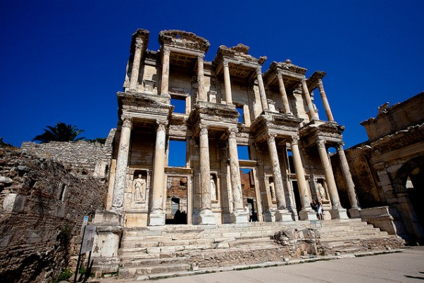 Ephesus via purple travel