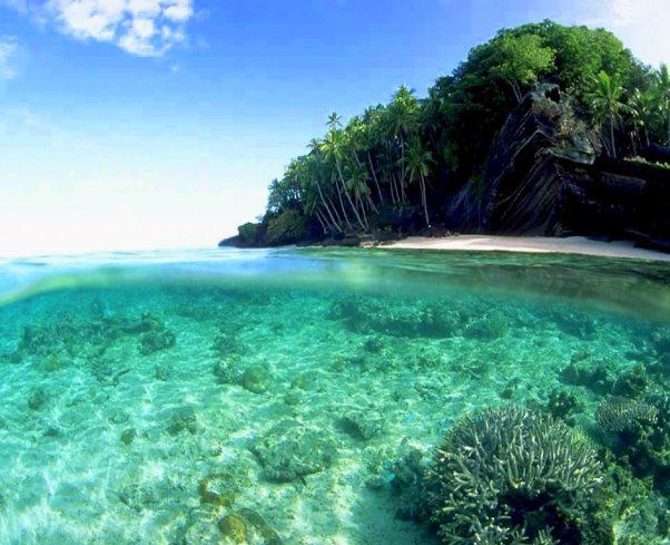 Romantic holidays, Tavarua island