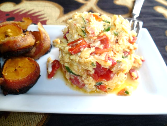 Venezuelan scrambled eggs