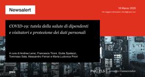 COVID-19 - tutela della salute di dipendenti e visitatori e protezione dei dati personali