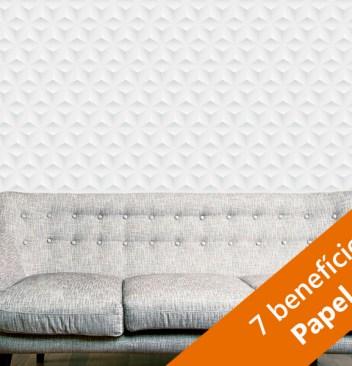 7 vantagens de usar papel de parede na decoracao