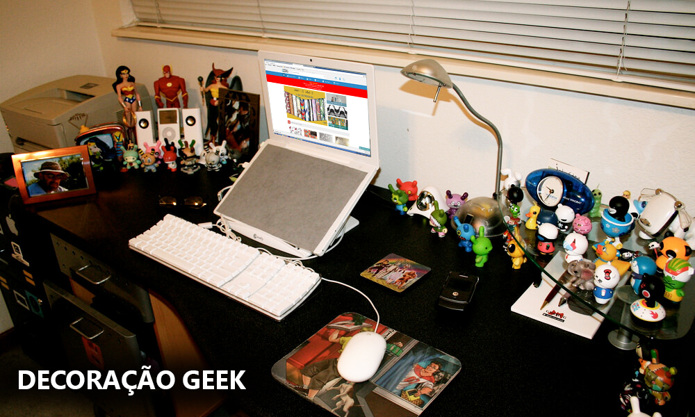 decoracao geek