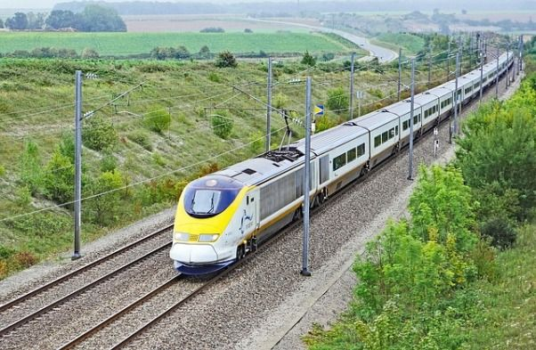 Eurotúnel - Tren París Londres