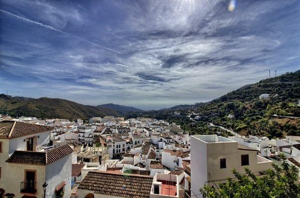 ruta por Ojen en Malaga