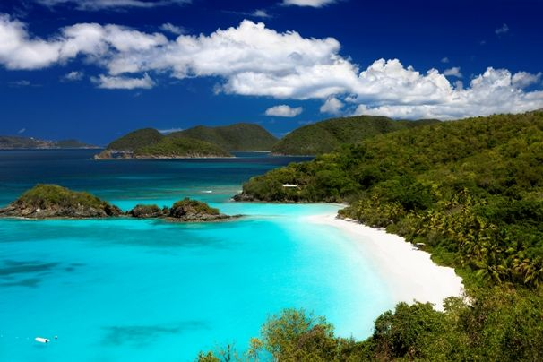 Trunk Bay en el Caribe