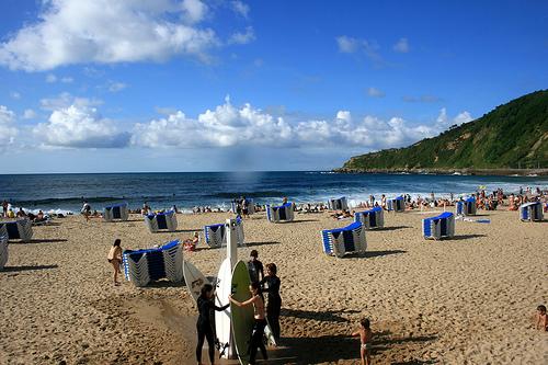 Playa Ondarreta, San Sebátián