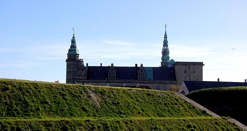 Castillo de Kronborg, Elsinore, Dinamarca