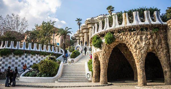 Parque Guell en Barcelona - Gaudí