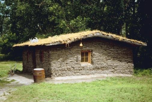 Casa típica de Suecia