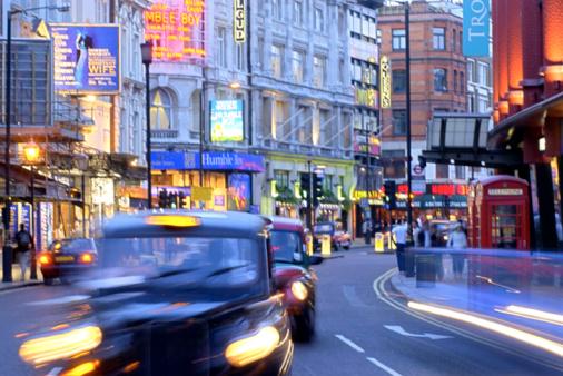 Shaftesbury Avenue en Londres