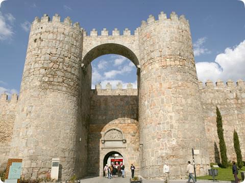 La muralla de Ávila