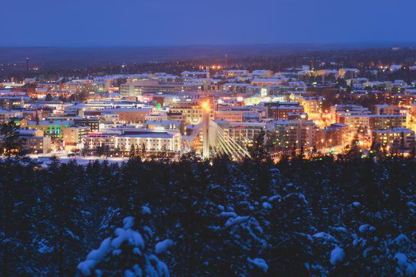 Vista de Rovaniemi