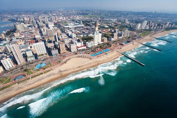 Vista aérea de Durban