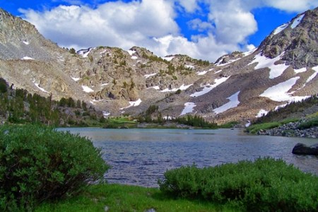 Paisaje natural en Mammoth Lakes, California
