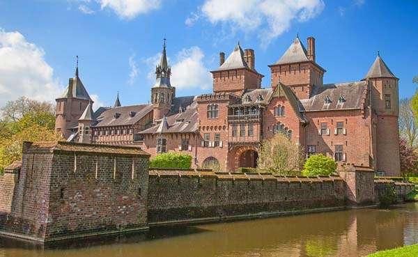 Castillo de Haar en Utrecht