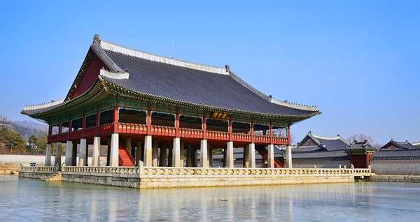 Vista del Gyeonghoeru-In-Gyeongb
