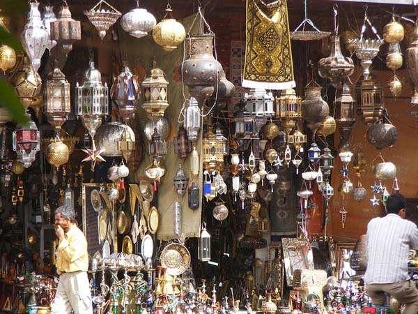De compras en Marrakech