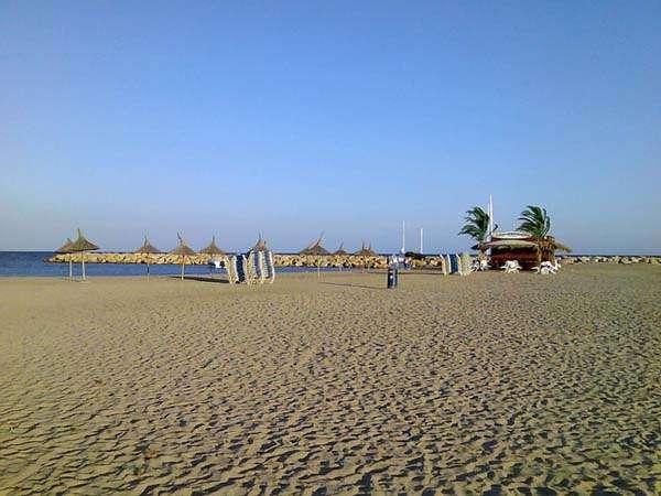Playa en Cambrils