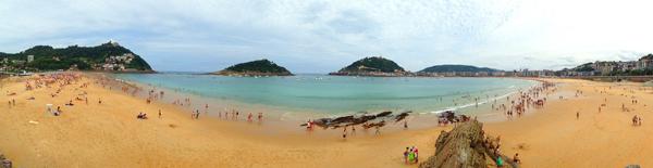 Playa de la Concha quehoteles