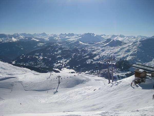 Esqui en los Alpes