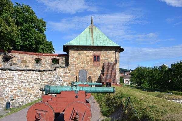 Fortaleza de Akershus en Oslo