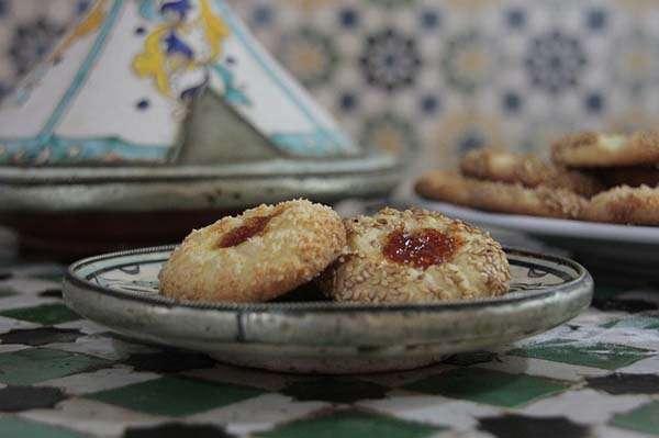 Galletas marroquíes