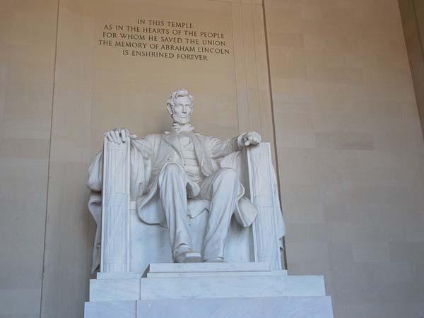 Monumento a Lincoln en Washington