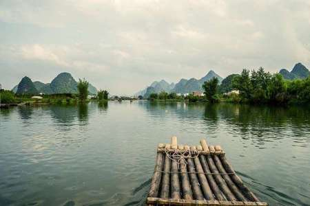 Sorpresas naturales en Guilin, China
