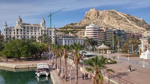 Alicante Castillo Santa Barbara