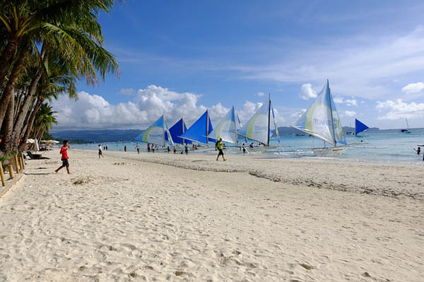 Isla de Boracay White Beach