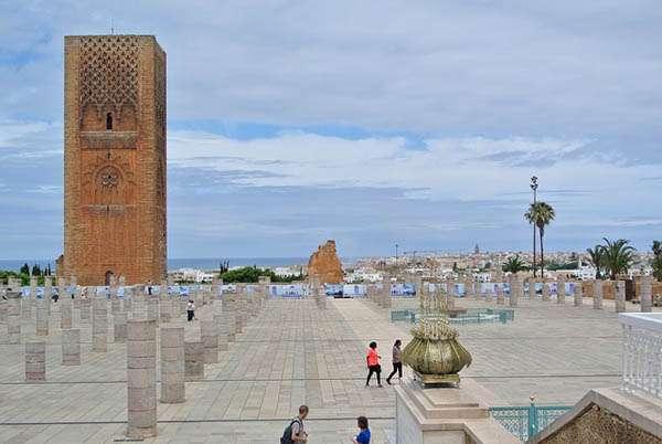 Minarete en Rabat