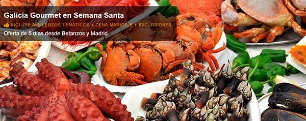 Galicia Gourmet en Semana Santa