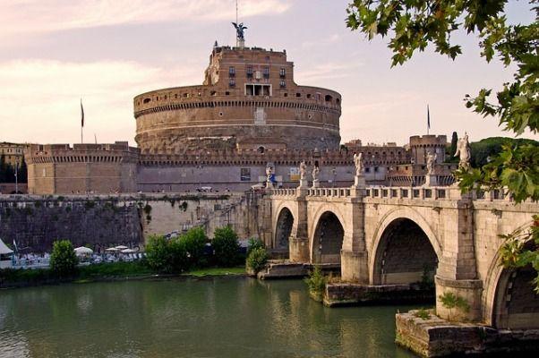 Castillo de Sant Angelo en Roma