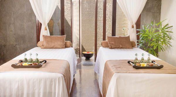 Hoteles con spa - sala de masajes -