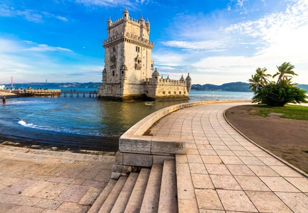 Torre de Belem, visitando Lisboa