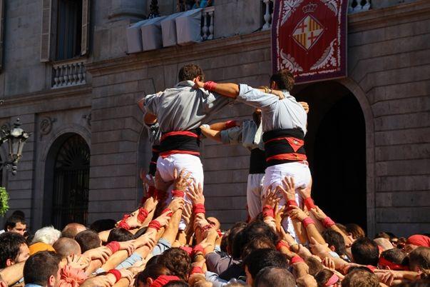 Fiestas en España - los castellets