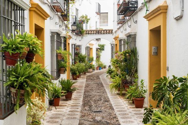 Barrio de la judería en Córdoba