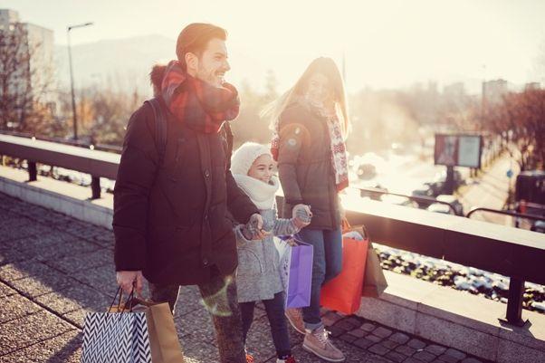 Puente de Diciembre con niños