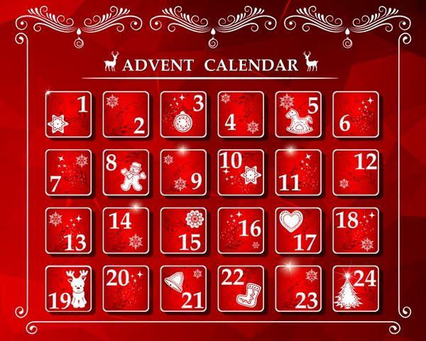 Calendario de fiestas en España en diciembre