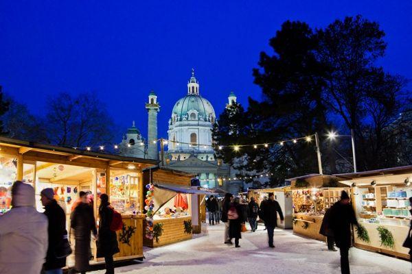 Mercadillo en Viena