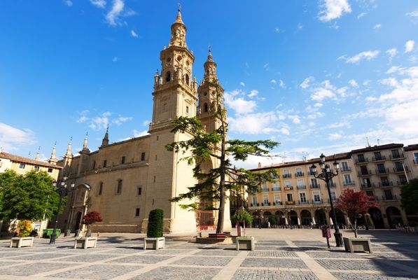 Catedral de Santa María la Redonda en Logroño