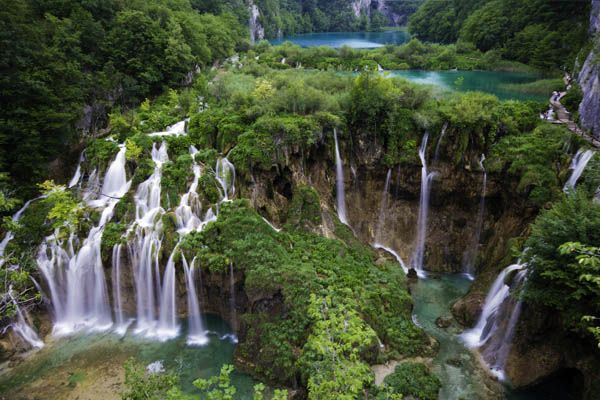 lagos de Plitvice en Croacia 02