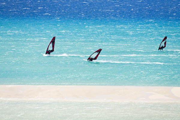 Windsurf en las playas de Fuerteventura