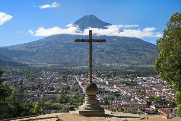 Cruz de Antigua en Guatemala