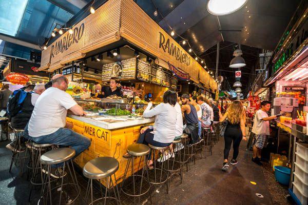 Mercados gastronomicos en España